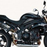 Exan X-Black for Triumph Speed Triple 1050